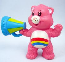 Care Bears - Kenner - Miniature - Cheer Bear with a colorful megaphone(loose)