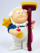 Care Bears - Kenner - Miniature - Cloudkeeper ready to sweep up the clouds (loose)