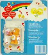 Care Bears - Kenner - Miniature - Friend Bear holding a lemonade for two (square card)