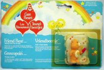 Care Bears - Kenner - Miniature - Friend Bear offering half of an ice lolly (large card)