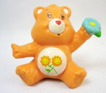 Care Bears - Kenner - Miniature - Friend Bear sitting with a flower (loose)