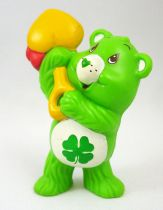 Care Bears - Kenner - Miniature - Good Luck Bear digging for treasure (loose)