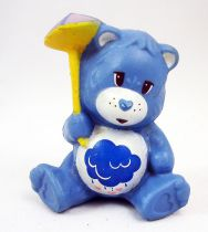 Care Bears - Kenner - Miniature - Grumpy Bear trying not to get wet (loose)