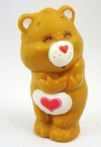 Care Bears - Kenner - Miniature - Tenderheart Beat giving himself a hug (loose)
