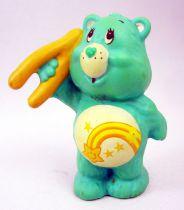 Care Bears - Kenner - Miniature - Wish Bear holding a wishbone (loose)