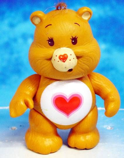 Care Bears - Kenner action figure - Tenderheart Bear (loose)