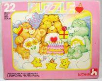 Bisounours -  Puzzle 22 pi�ces Nathan - L\'anniversaire (1)