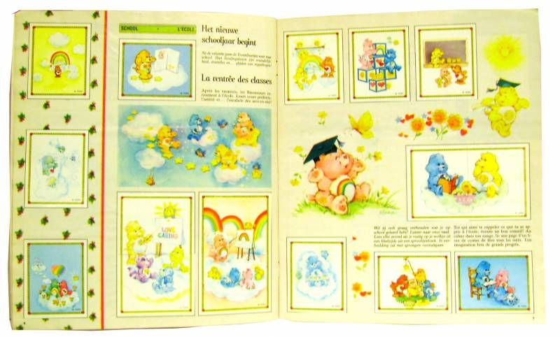 Care Bears - Panini album - Care Bears\'s News Paper