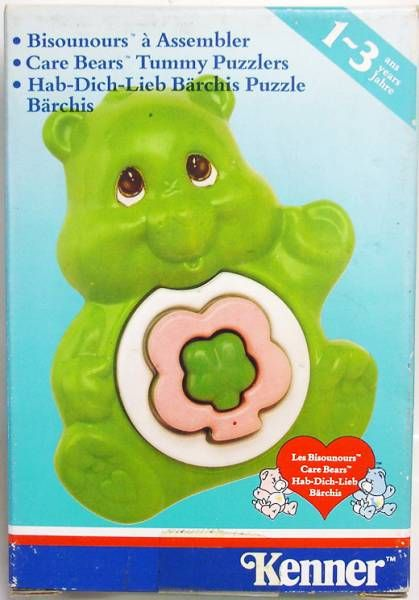 Care Bears - Tummy Puzzlers - Good Luck Bear