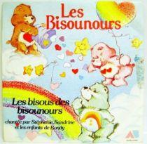 Care Bears: Care Bears kisses - Mini-LP Record - AB Prod. 1986