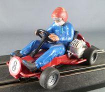 Carrera Universal 40485 - Go-Kart N° 8 Pilote Bleu Foncé