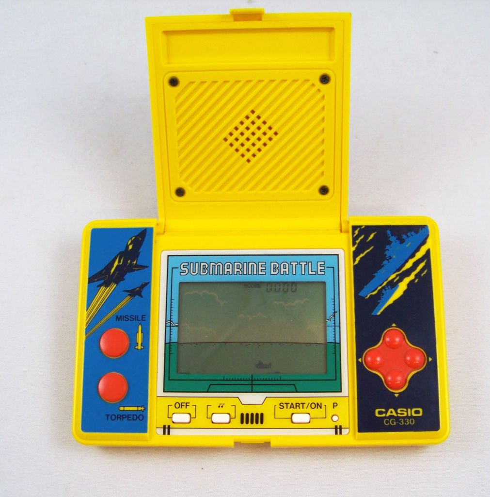 Paper Writer V N Casio Handheld Game Submarine Battle Occasion P Image  Grande Paper Writer V N
