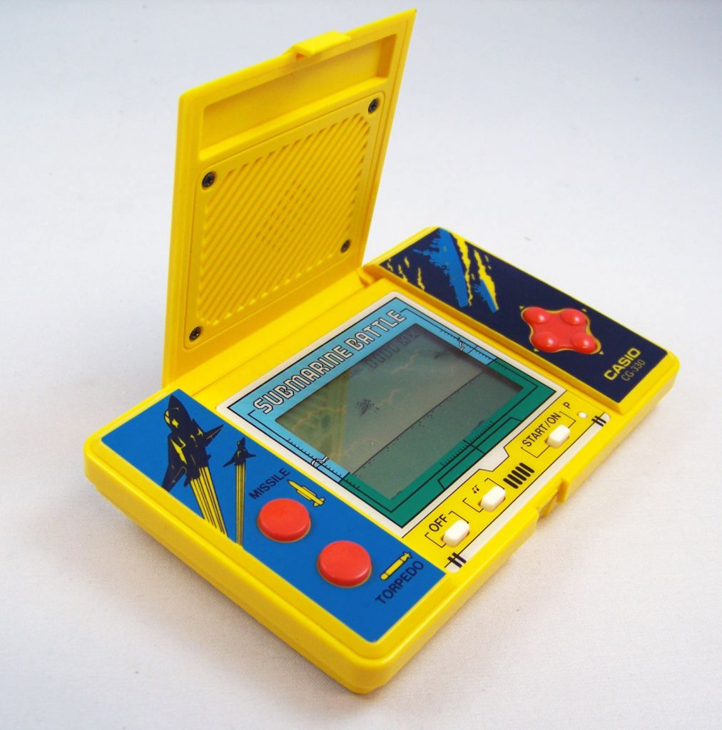 Casio - Handheld Game - Submarine Battle (occasion) 03