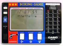 Casio - Handheld Game with Calculator - Boxing Game