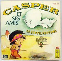 Casper le Gentil Fantôme et ses amis - Disque 45Tours - AdesLe Petit Menestrel 1978
