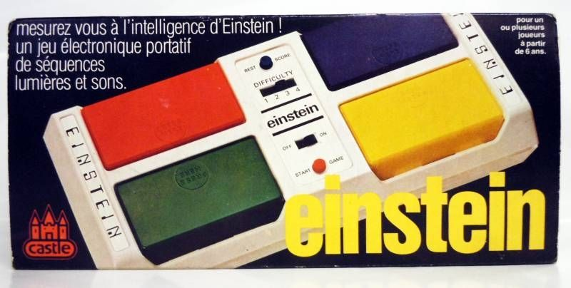Castle Toy Co. - Handheld Game - Einstein (French Box)