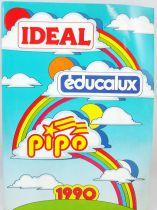 Catalogue professionnel Ideal Pipo Educalux France 1990
