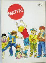 Catalogue professionnel Mattel France 1987