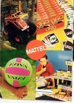 Catalogue professionnel Mattel France 1993 (garçons)