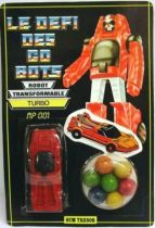 Challenge of the GoBots - Turbo - May Gum Tresor figure
