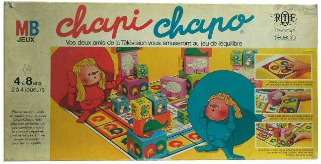 Chapi Chapo  Board Game MB Mint in box