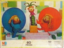 Chapi Chapo MB 60 pieces Jigsaw Puzzle (loose)
