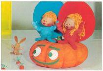 Chapi Chapo Postal card Chapi Chapo & pumpking