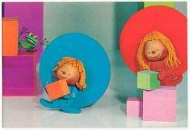 Chapi Chapo Postal card Chapi Chapo & the frog