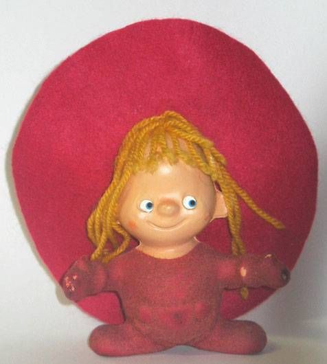 Chapi Fuzzy plastic figure