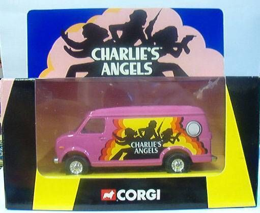 Charlie\\\'s Angels - Corgi 2001 - Custom Van (Mint in box)