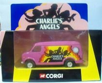 Charlie\'s Angels - Corgi 2001 - Custom Van (Mint in box)