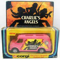 Charlie\'s Angels - Corgi ref.434 1978 - Custom Van (Mint in box)