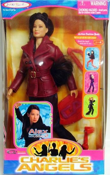 Charlie\'s Angels (Movie) - Alex (Lucy Liu) doll Series 2