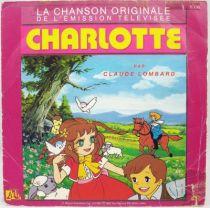 Charlotte - Disque 45Tours - Bande Originale Série Tv - Disques Ades 1987