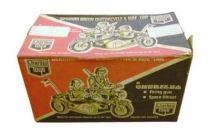 Cherilea - German Army Motorcycle Side-Car - Réf 2605