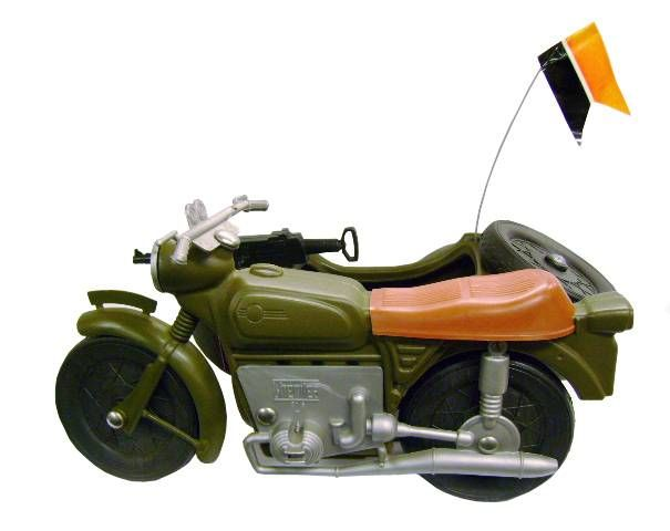 Cherilea - German Army Motorcycle Side-Car - Réf 2605