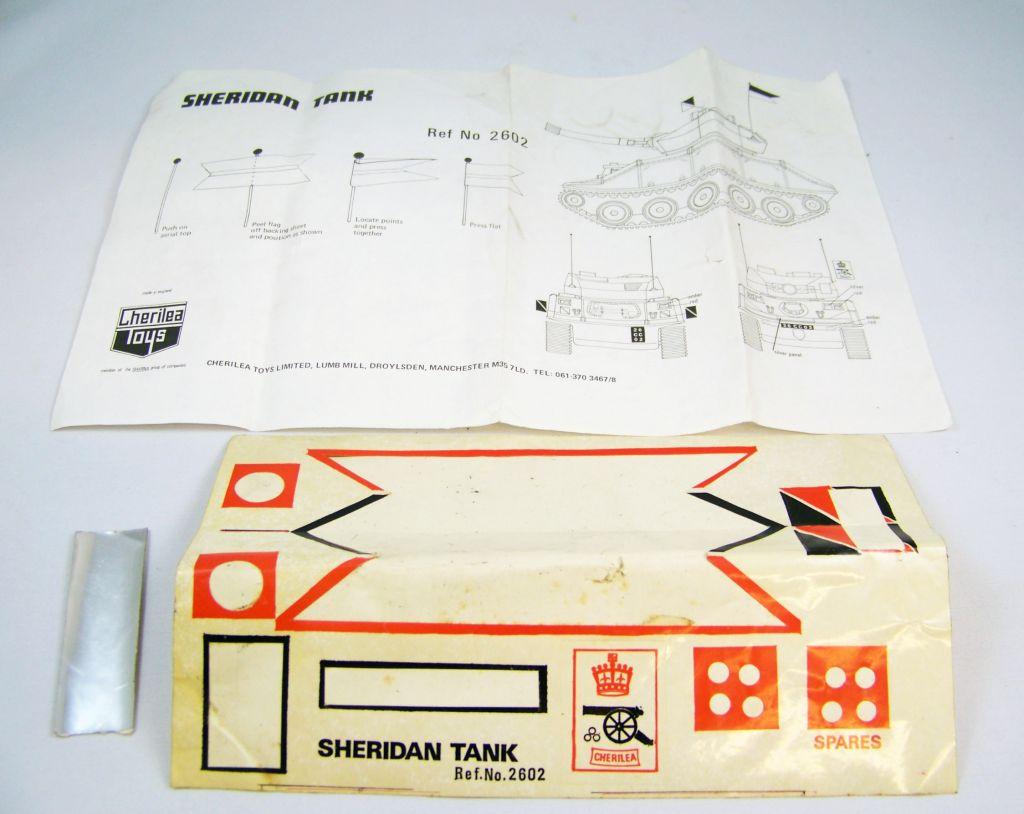 Cherilea - Sheridan Tank (Char) - Réf 2602 12