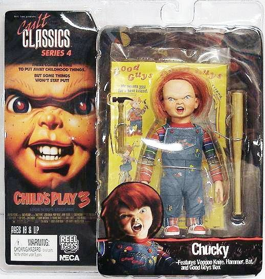 Child\'s Play 3 - Chucky - Cult Classics series 4 figure