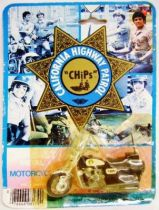CHiPs - Die-cast Motorcycle - Kawasaki - Imperial Toy 1980