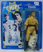 CHiPs - Mego 8\\\'\\\' - Ponch - Mint on card