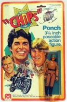 CHiPs - Mego Action Figure - Ponch - Mint on card