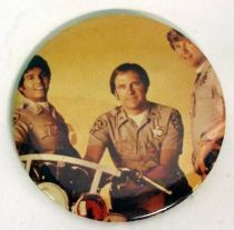 CHiPs - Vintage Button - Ponch, Sarge, Jon