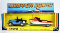 Chopper Squad - Corgi Gift Set n°35 - Surf rescue