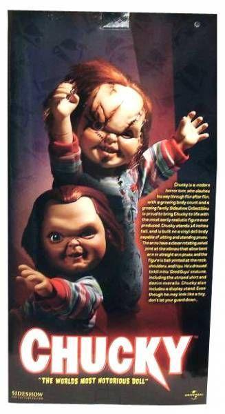 Chucky - Sideshow 18\'\' dolls