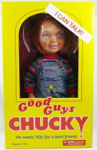 "Chucky (Child\'s Play 2) - 15"" Talking Figure \""Good Guys\"" - Mezco"