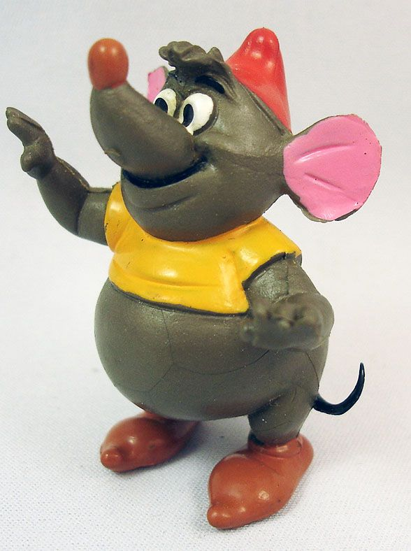 Cinderella - Comic Spain PVC Figure - Gus the fat mouse