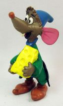 Cinderella - Comic Spain PVC Figure - Luke the mouse with cheese