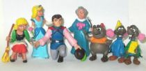 Cinderella - Comics Spain PVC Figure - Complete set of 7 Figures