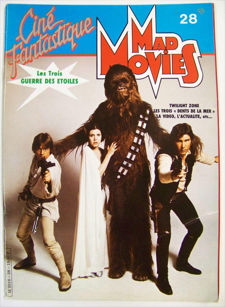 Ciné Fantastique Mad Movies n°28 - Les 3 Guerre des Etoiles - octobre 1983 01
