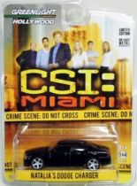 CIS: Miami - Natalia\'s Dodge Charger (1:64 Die-cast) Greenlight Hollywood